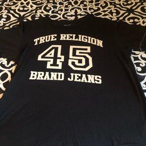 Men's Black True Religion Shirt